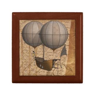 Dirigeable de ballon de la boîte à bijoux W. de
