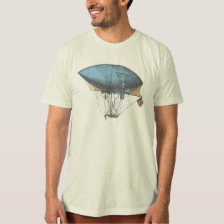 Dirigeable vintage coloré t-shirt