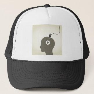 Dirigez l'ordinateur casquette