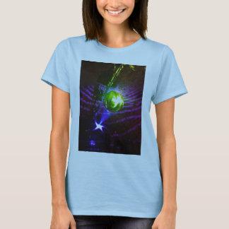 Disco de l'espace t-shirt