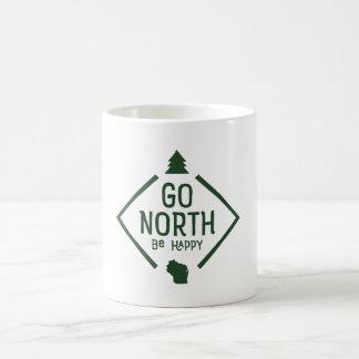 Disparaissent le nord soit heureux - vert de tasse