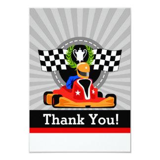 DISPARAISSENT les cartes de Merci de fête Carton D'invitation 8,89 Cm X 12,70 Cm