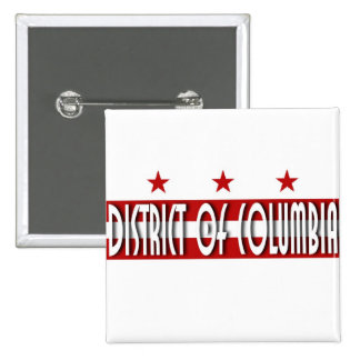 District de Columbia Badge Carré 5 Cm