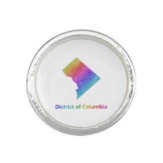 District de Columbia Bagues Avec Photo