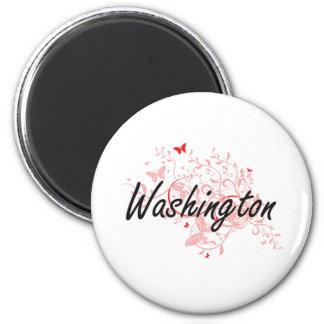 District de Columbia de Washington le desi Magnet Rond 8 Cm