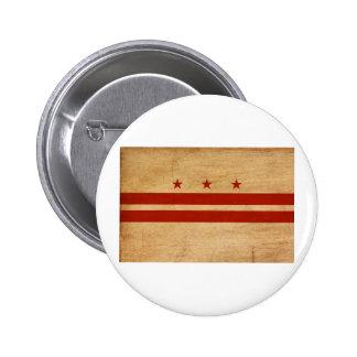 District de Columbia des boutons de drapeau Badge Rond 5 Cm