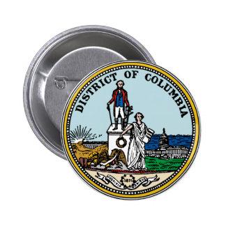 District de Columbia le joint Badge Rond 5 Cm