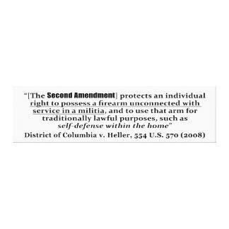District de Columbia V Heller, 554 États-Unis 570  Toiles