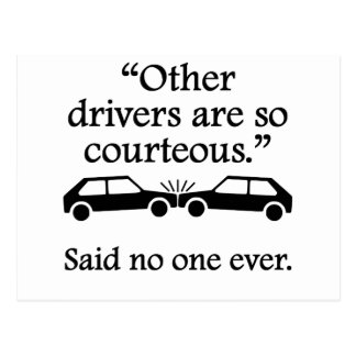 Dit personne jamais : D'autres conducteurs Carte Postale