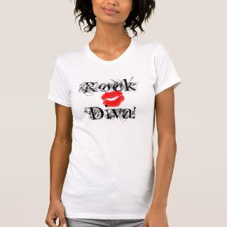 """""""Diva de roche, T-shirt de la roche I de divas"""" -"""