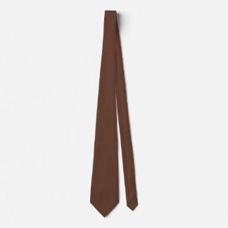 Divinement couleur de Brown de confiserie Cravate
