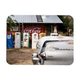 Dixon, Nouveau Mexique, Etats-Unis. Voiture vintag Magnet En Rectangle