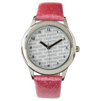 DIY - voeg uw eigen foto of teken toe Horloge