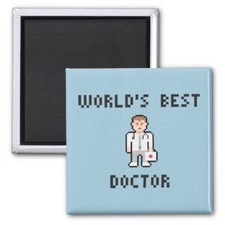 Docteur Magnet du monde de pixel meilleur