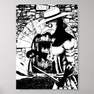 Docteur Poster de peste