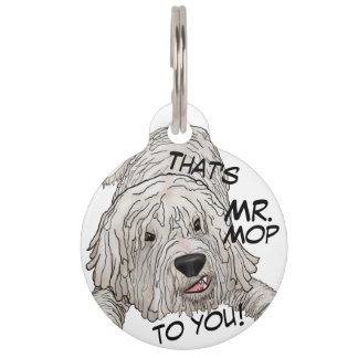 Dog Tag Komondor Penning