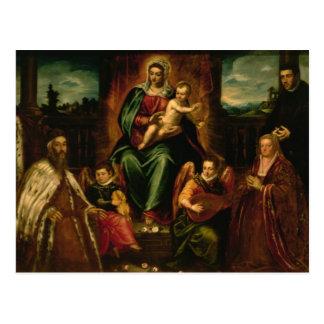 Doge Alvise Mocenigo et famille Carte Postale