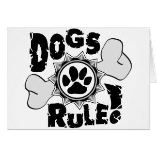 DogsRule_Logo_BW Cartes De Vœux