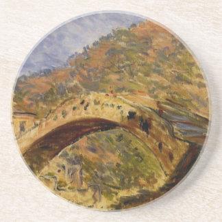 Dolceacqua, pont par Claude Monet Dessous De Verre