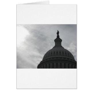 Dôme de capitol * DC de Washington Carte De Vœux