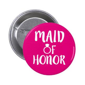 Domestique de bouton d'honneur badge rond 5 cm