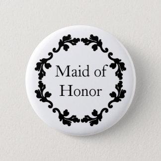 Domestique d'honneur badge rond 5 cm