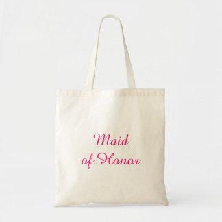 Domestique rose de sac fourre-tout à honneur