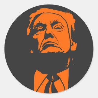 Don, autocollant rond de Donald Trump