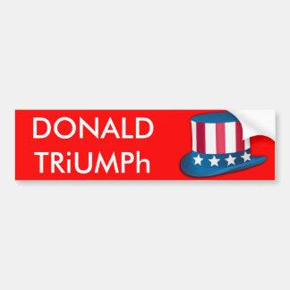 Donald Trump, autocollant des Etats-Unis de