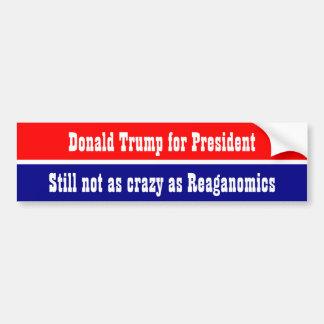 Donald Trump pour le président… Autocollant De Voiture