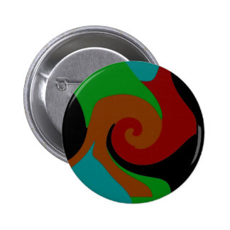 Donkere Modern Ronde Button 5,7 Cm