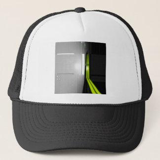 Données fraîches abstraites d'ordinateur casquette