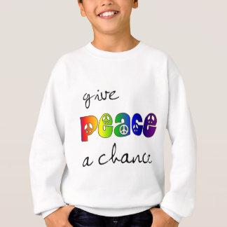 Donnez à paix une occasion sweatshirt