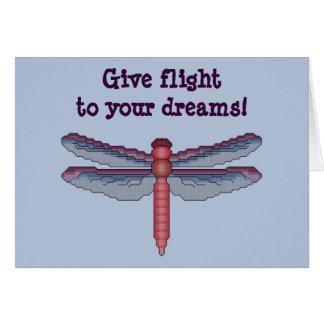 Donnez le vol à vos rêves ! Carte de libellule