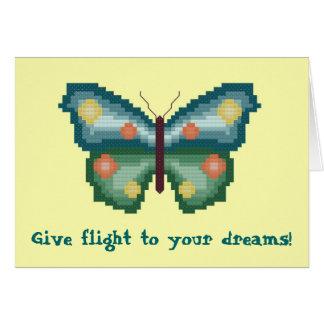 Donnez le vol à vos rêves ! Carte pour notes de