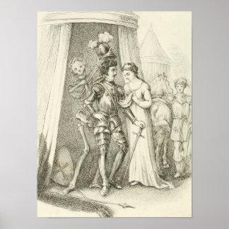 Dood in de Middeleeuwen Poster