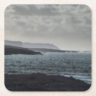 Doolin, Burren, Ierland Vierkante Onderzetter