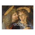 Doopsel van Christus (engelen) door Leonardo da Vi Wens Kaart