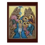 Doopsel van de Kaart van het Gebed van Christus Wenskaart