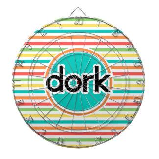 Dork, de Heldere Strepen van de Regenboog Dartbord