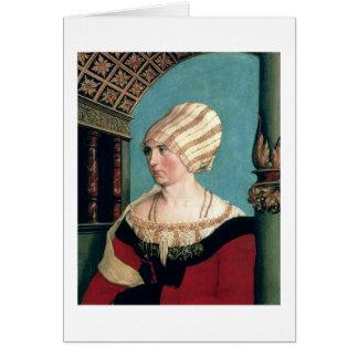 Dorothea Kannengiesser, 1516 (tempera op limewood) Kaart