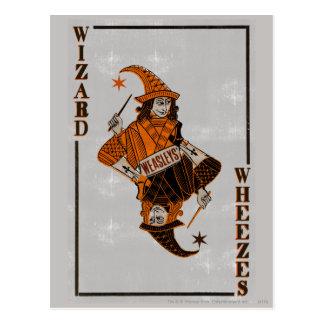 Dos de la carte de Weasleys