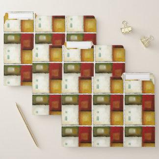 Dossier Quatre rectangles colorés par Chariklia Zarris
