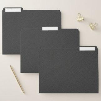 Dossier Toile gris-foncé simple de Faux