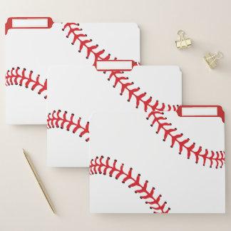 Dossiers de conception de base-ball réglés