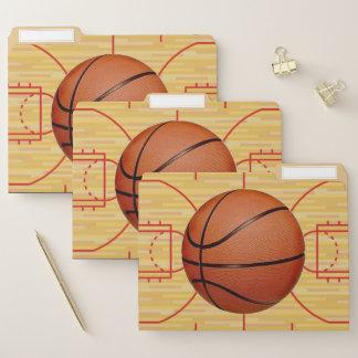Dossiers de conception de basket-ball réglés