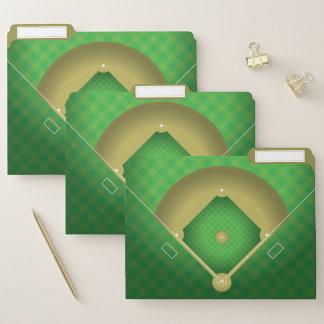 Dossiers de conception de diamant de base-ball
