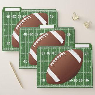 Dossiers de conception du football réglés