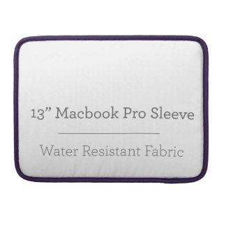 Douane 13in ProSleeve Macbook Sleeve Voor MacBooks