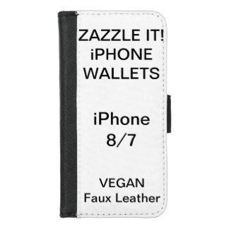 Douane Gepersonaliseerde iPhone 8/7 Sjabloon van iPhone 5 Portefeuille Hoesjes